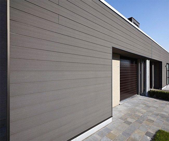 gỗ nhựa WPC sử dụng trong ốp tường