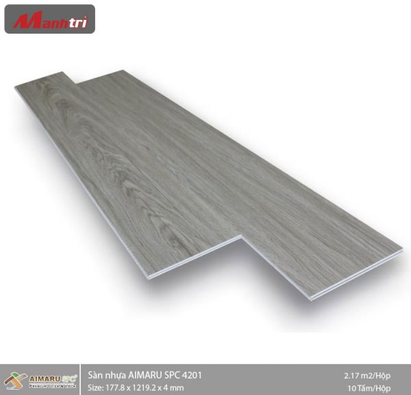 sàn nhựa aimaru hèm khóa 4201