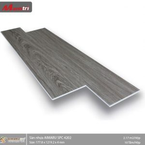 sàn nhựa Aimaru hèm khóa 4202