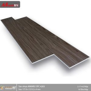 sàn nhựa aimaru hèm khoa 4203
