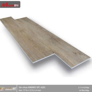 sàn nhựa aimaru hèm khóa 4205