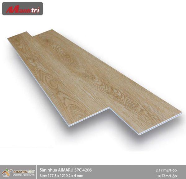 sàn nhựa aimaru hèm khóa 4206