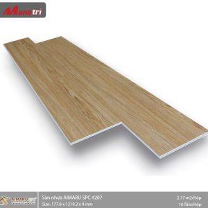 sàn nhựa aimaru hèm khóa 4207