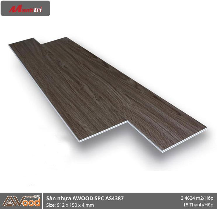 sàn nhựa Awood SPC