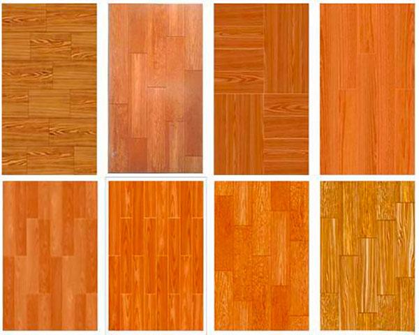 Hình mẫu gạch giả gỗ Aroma