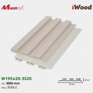 tấm ốp iwood w200-20-3s20-2 hình 2