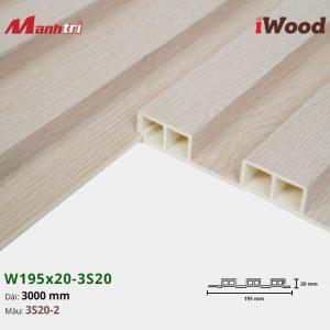 tấm ốp iwood w200-20-3s20-2 hình 3