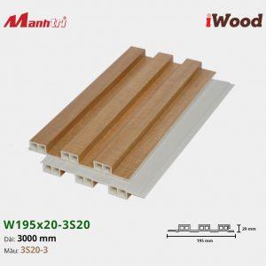 tấm ốp iwood w200-20-3s20-3 hình 2