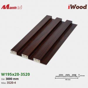 tấm ốp iwood w200-20-3s20-4 hình 1