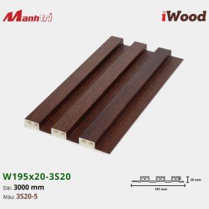 tấm ốp iwood w200-20-3s20-5 hình 1