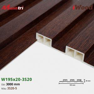 tấm ốp iwood w200-20-3s20-5 hình 3