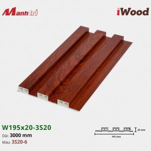 tấm ốp iwood w200-20-3s20-6 hình 1