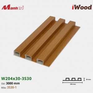 tấm ốp iwood w204-30-3S30-1 hình 1