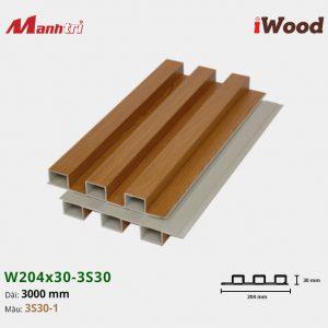 tấm ốp iwood w204-30-3S30-1 hình 2