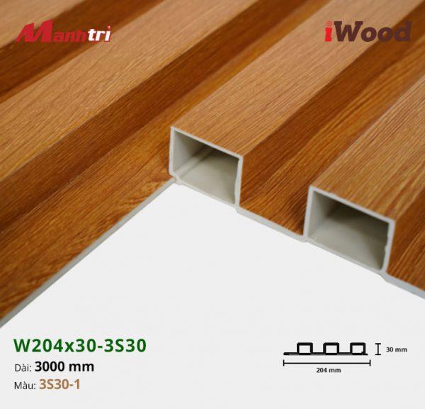 tấm ốp iwood w204-30-3S30-1 hình 3