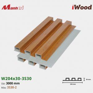 tấm ốp iwood w204-30-3S30-2 hình 2