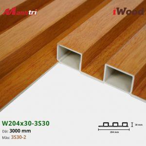 tấm ốp iwood w204-30-3S30-2 hình 3