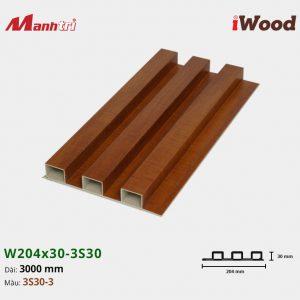 tấm ốp iwood w204-30-3S30-3 hình 1