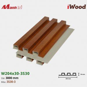tấm ốp iwood w204-30-3S30-3 hình 2