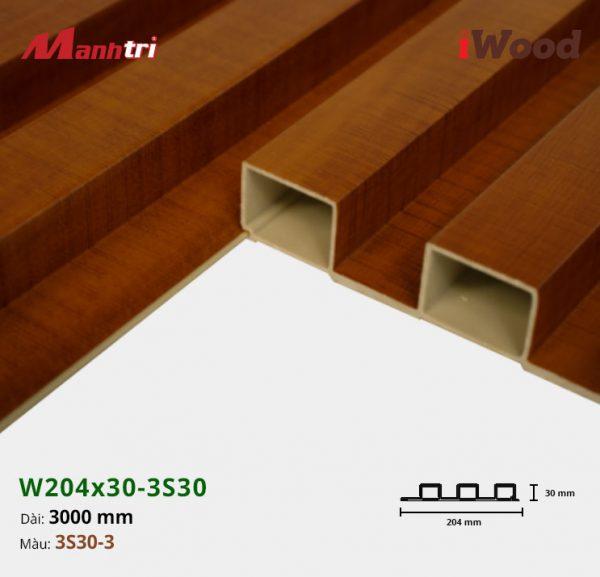 tấm ốp iwood w204-30-3S30-3 hình 3