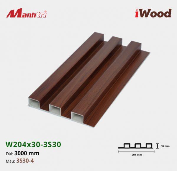 tấm ốp iwood w204-30-3S30-4 hình 1