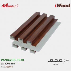 tấm ốp iwood w204-30-3S30-4 hình 2