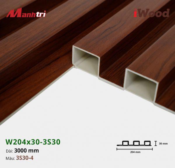 tấm ốp iwood w204-30-3S30-4 hình 3