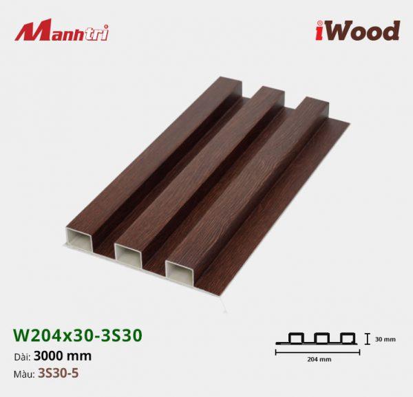 tấm ốp iwood w204-30-3S30-5 hình 1