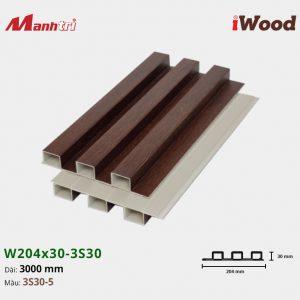 tấm ốp iwood w204-30-3S30-5 hình 2
