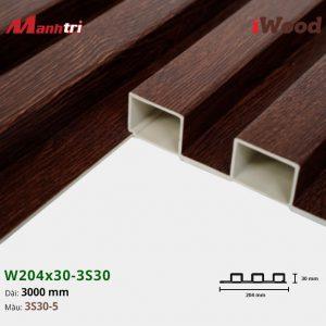 tấm ốp iwood w204-30-3S30-5 hình 3