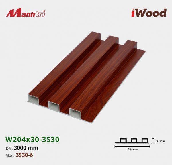 tấm ốp iwood w204-30-3S30-6 hình 1