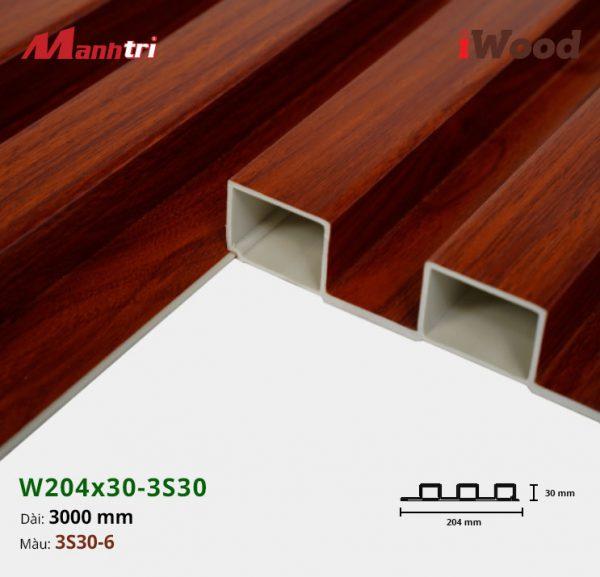 tấm ốp iwood w204-30-3S30-6 hình 3