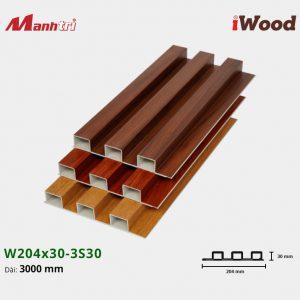 tấm ốp iwood w204-30-3S30 hình 2