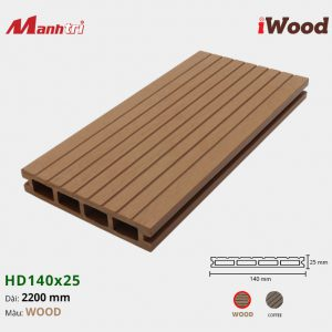 iWood HD140x25-Wood