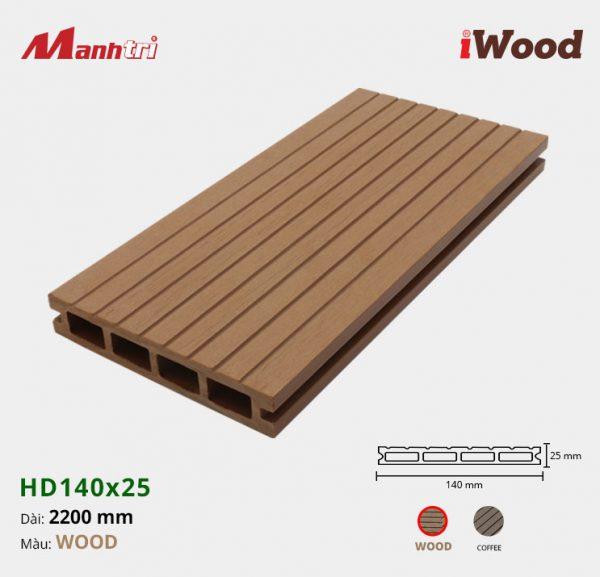 iWood HD140x25-Wood