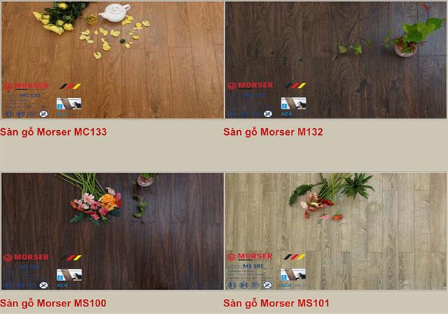 Mẫu sàn gỗ Morser hình 2