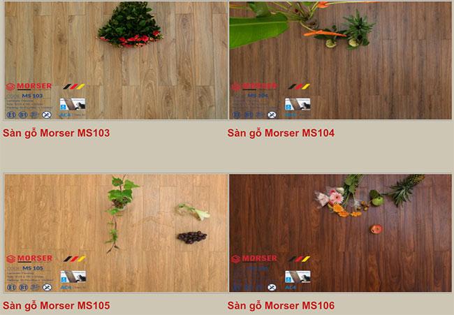 Mẫu sàn gỗ Morser hình 3