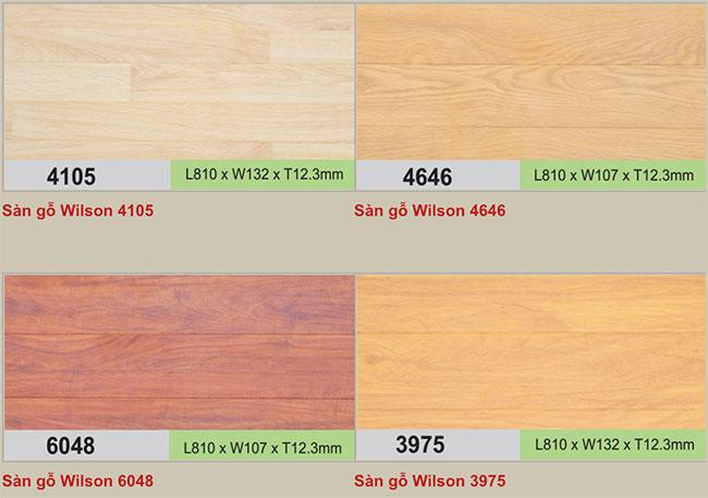Mẫu sàn gỗ Wilson hình 1