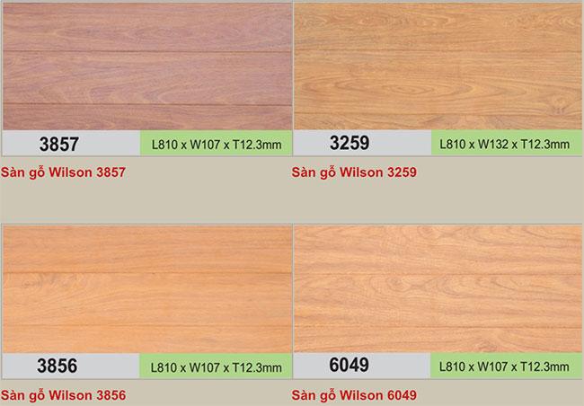 Mẫu sàn gỗ Wilson hình 2