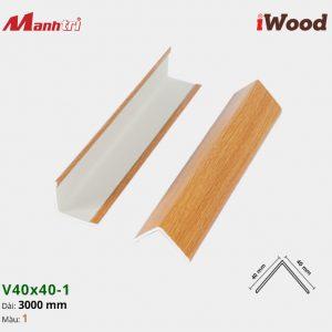 nẹp iWood V40x40-1 hình 1