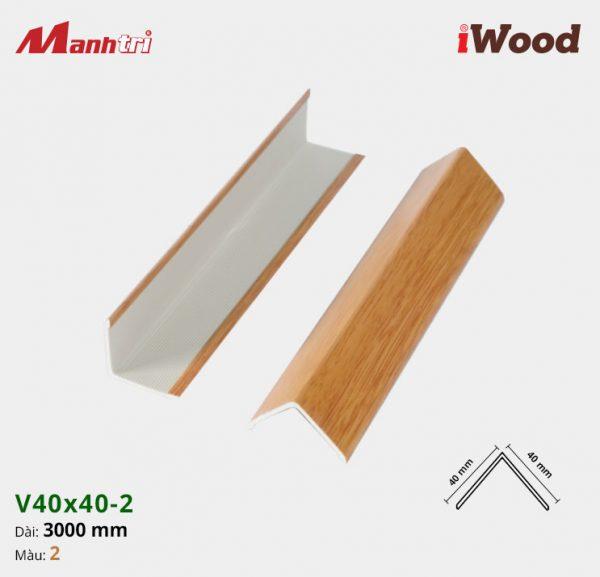 nẹp iWood V40x40-1 hình 2