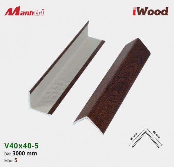 nẹp iWood V40x40-1 hình 5