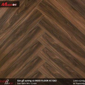 sàn gỗ Indofloor XC1263