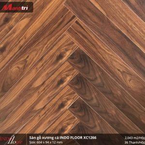 sàn gỗ Indofloor XC1266