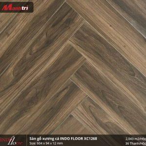 sàn gỗ Indofloor XC1268