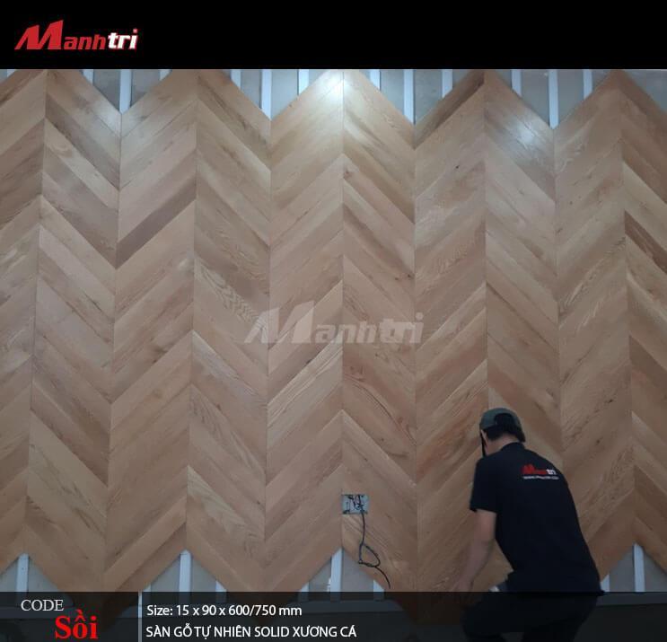 sàn gỗ kĩ thuật xương cá