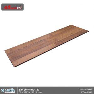 Sàn gỗ Vario T22 hình 1