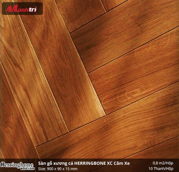 sàn gỗ xương cá Herringbon XC Căm Xe