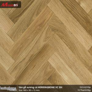 sàn gỗ xương cá Herringbon XC Sồi
