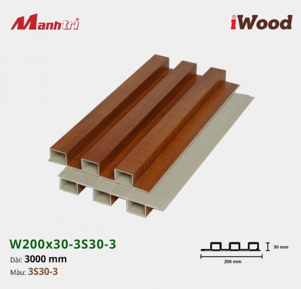 tấm ốp iWood 3S30-3 hình 2